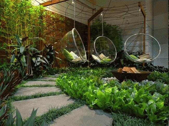 Khu vườn có không gian đẹp