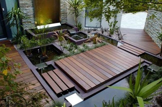Mẫu thiết kế vườn theo phong cách Nhật Bản